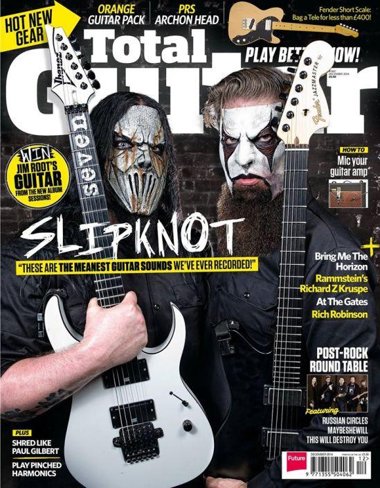 Total Guitar Slipknot Inglesa Total Guitar