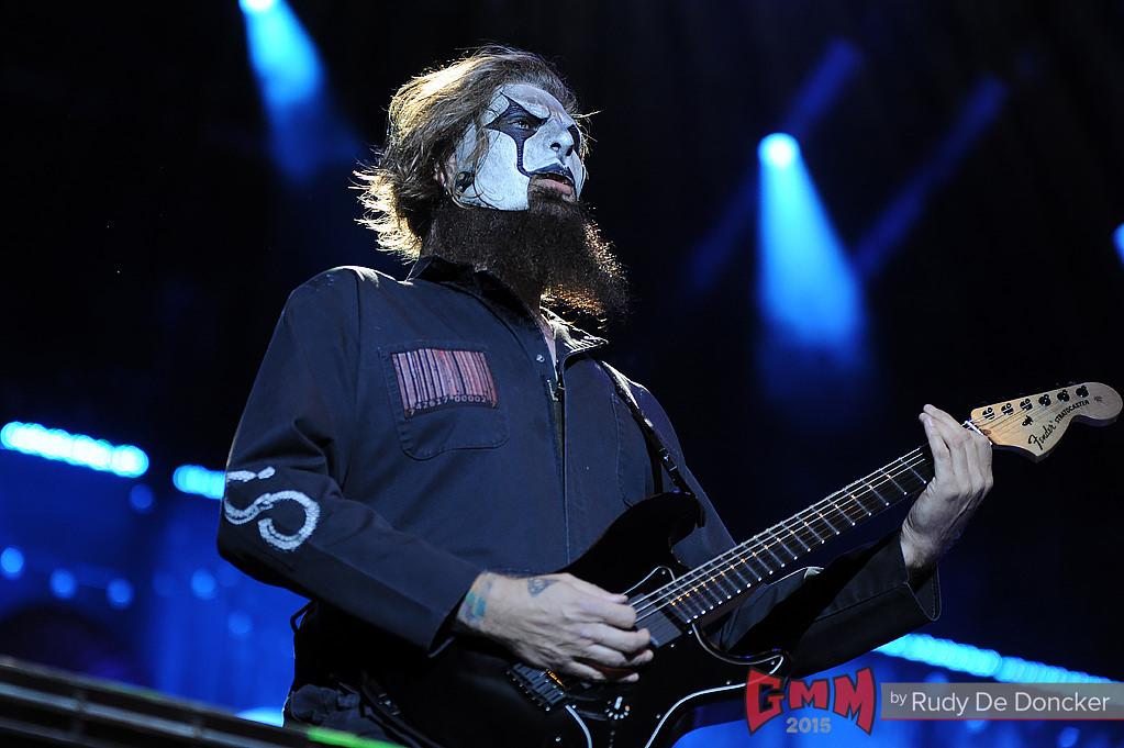 Rudy De Doncker para Graspop Metal Meeting.