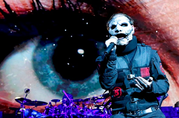 Corey Taylor of Slipknot performs at T-Mobile Arena on Sunday, Aug. 21, 2016, in Las Vegas.